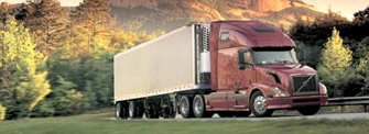 Picture of large Tractor Trailer